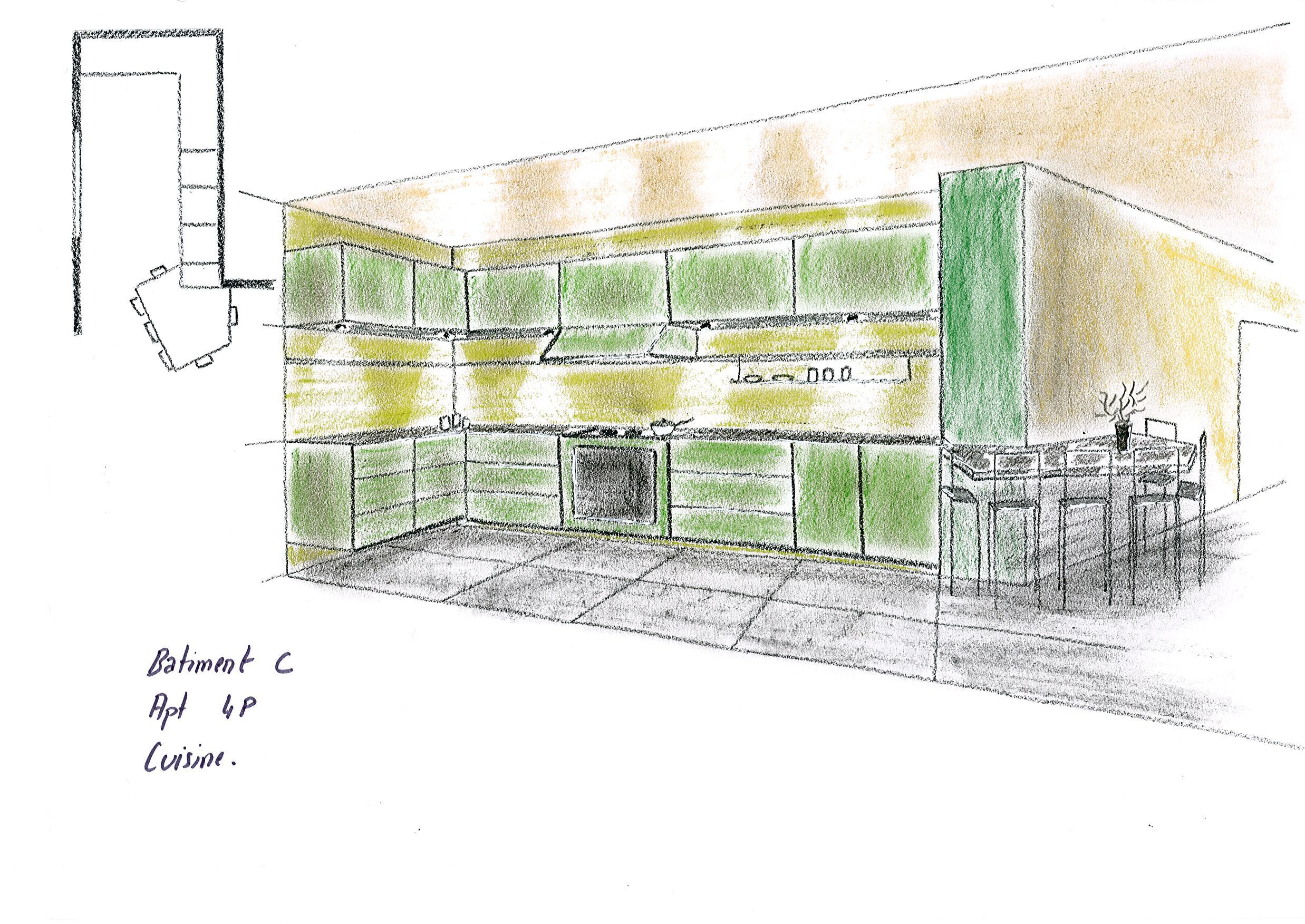 Tudiant En Architecture Int Rieure Esquisses En Architecture D 39 Int Rieur